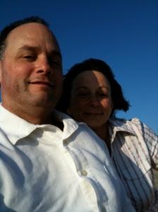 Bonnie and Daryl in Huntington Beach