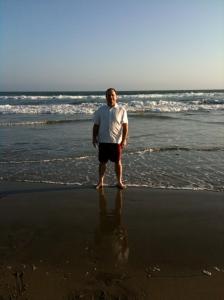 Daryl at Huntington Beach